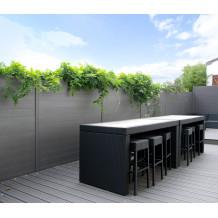 La clôture aluminium