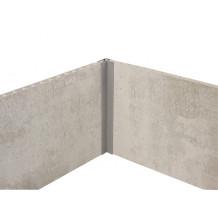 Perfil de acabado - ángulo interno - externo