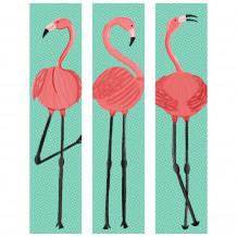 Cuadro decorativo Flamingo