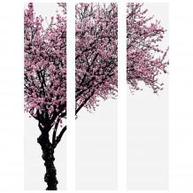 Cuadro decorativo árbol color