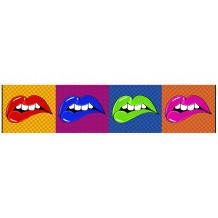 Cuadro decorativo pano Lip's Wow'Roll