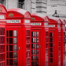 Pared decorativa Element 3D London phone