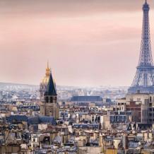 Pared decorativa Element 3D Torre Eiffel
