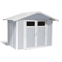 Caseta de jardín Utility 4,9m Gris azul