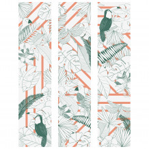 Cuadro decorativo mural JUNGLE GRAPHIK