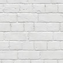 Revêtement Element 3D brique blanche