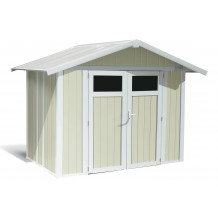 Caseta de jardín Utility 4,9m Gris Verde