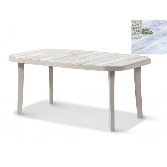 Mesas de jardín Nordic 165 cm