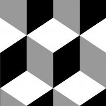 Loseta adhesiva Square Kube