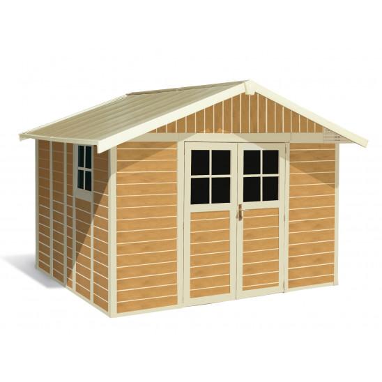 Casetas de jardín Déco Sherwood 11 m²