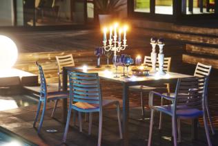 Una mesa de jardín para cada uso