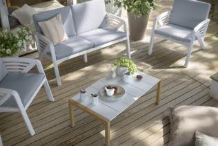 """¡Muebles y decorado outdoor: ¡un jardín """"ambi..."""