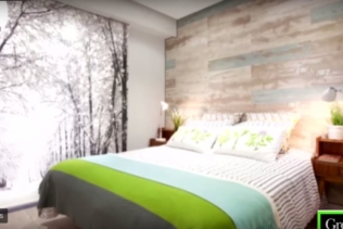 ¡Una nueva habitación con ambiente naturaleza!