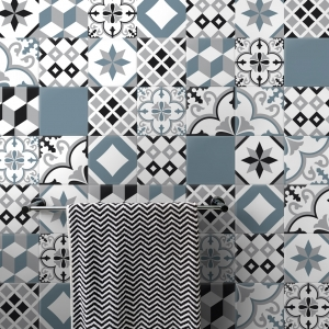 azulejo adhesivo etiqueta de baldosas de cemento baldosas de cemento adhesivo azulejos decorativos adhesivos